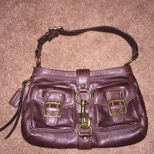 Coach Purse - Authentic Brown Leather